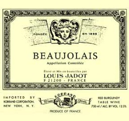 Beaujolais it on me