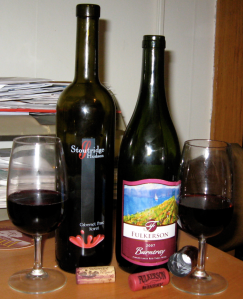 Monday matchup:  Cabernet Franc/Noiret blends